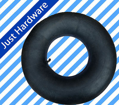 "4.10 / 3.50 - 4 Inner Tube For Pneumatic Wheel Trolley Wheel 10"" Bent Valve AU"