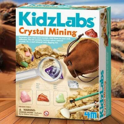 Crystal Mining Kit For Kids