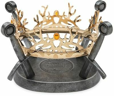 GAME OF THRONES: Royal Crown Houses Baratheon & Lannister Prop Replica (Factory)