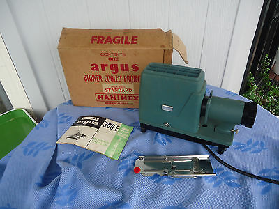 vintage hanimex argus 300 E slide projector works in box