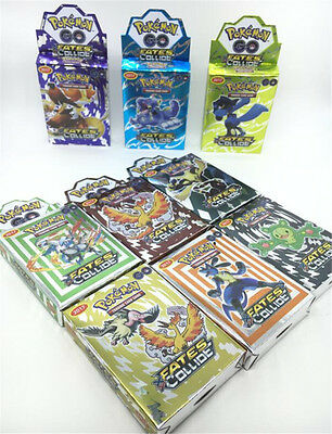 25pcs/lots Hot Kid Gmae Cards EX Trading Collection Cards Figures Toys Gift