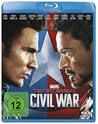 The First Avenger  Civil War Blu-Ray Deutsch