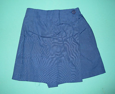 NEW Girls school uniform Skort Royal size 5 to 16