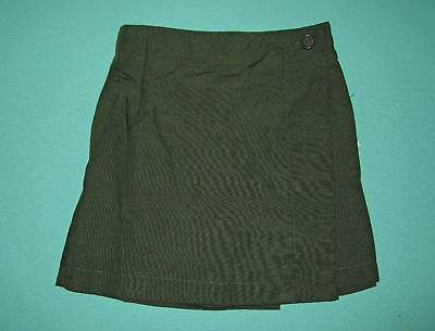 NEW Girls school uniform Skort Green size 5 to 16