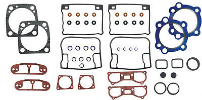 Top End head & base gasket kit 1992-1999 Cover Harley evolution softail dyna