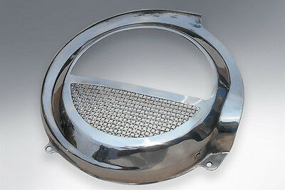 Vespa Flywheel Custom Cover Cowling Pe Px Electric Start Stainless