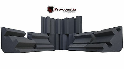 Genuine Pro-coustix Ultraflex High Performing Bass Traps 300mm x6 Traps