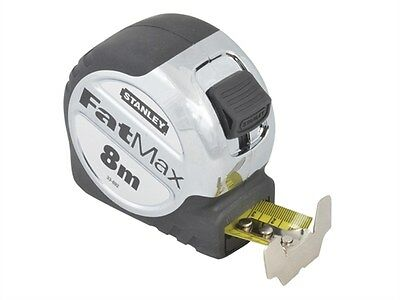 Stanley STA033892 FatMax Xtreme Tape Measure 8m Metric Only 0-33-892 New