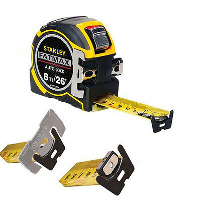 Stanley XTHT0-33504 0-33-504 8m Metre Tape Measure FatMax Autolock STA033504 New