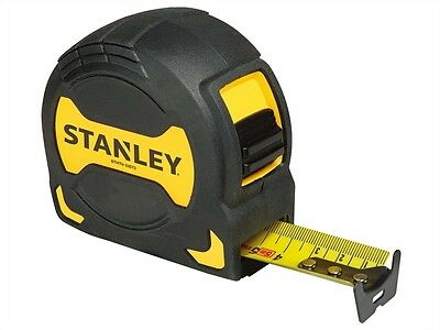 Stanley STA033569 Grip Tape Measure 8m/26ft Blade Width 28mm 0-33-569 New