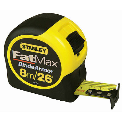 Stanley STA033726 Fatmax Blade Armor 8m 26ft Tape Measure 0-33-726 New