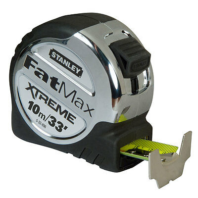 Stanley STA533896 FatMax Xtreme Tape Measure 10m 33ft 5-33-896 New