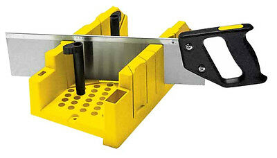 Stanley STA120600 Clamping Mitre Box And Fine Tenon Saw 1-20-600 New