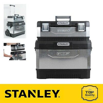 Stanley STA195832 Galvanised Mobile Work Centre/ Station 1-95-832 New