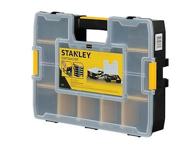Stanley STA194745 Sortmaster Organiser With Connectable Side Clips 1-94-745 New