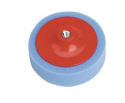 Sealey PTC/CH/M14-B 150 x 50mm Buffing / Polishing Foam Head M14 Blue Medium