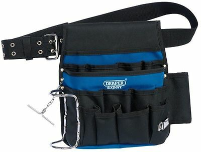 Draper Expert 16 Pocket Tool Pouch Heavy Duty Nylon Includes Toolbelt 02987 NEW