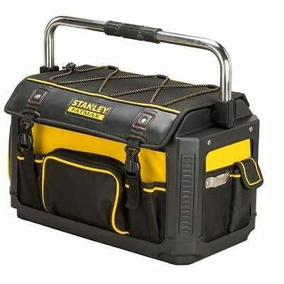 """Stanley STA179213 Fatmax Plastic Fabric Tote Toolbag 20"""" With Cover 1-79-213 New"""