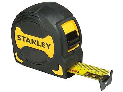 Stanley STA033568 STHT0-33568 Tape Measure Rubber Grip 5m Metric 0-33-568 New