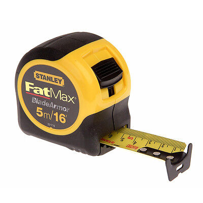 Stanley STA033719 Blade Armor FatMax 5m/16ft Width 32mm Tape Measure 0-33-719