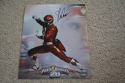 STEVE CARDENAS signed Autogramm 20x25 cm In Person POWER RANGERS