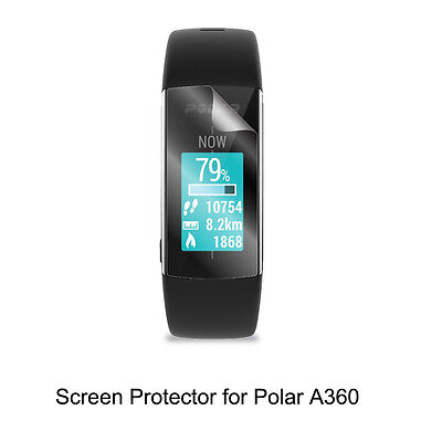3*Clear LCD Shield Film Anti-Scratch Screen Protector for Polar A360