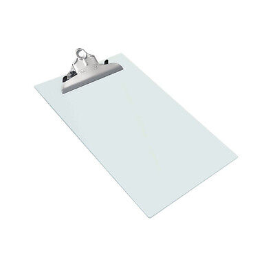 Rapesco Frosted Transparent Clear Clipboard / A4 Foolscap Size / Ht05033