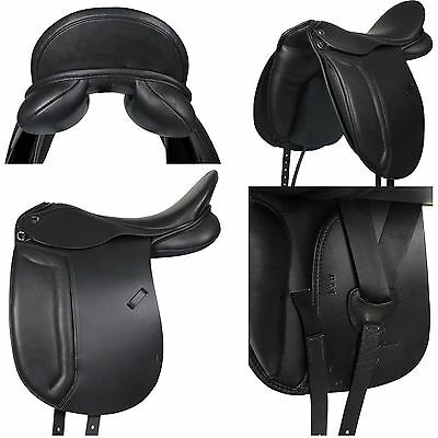 Horka Equestrian Amohn High Quality Leather Comfortable Easy Fitting Seat Saddle
