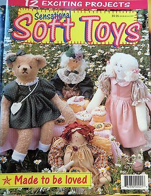 Sensational Soft Toys Magazine 12 exciting projects