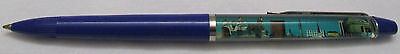 Vintage Indianapolis City Scene Floaty Pen Made In Denmark Indiana Race Car