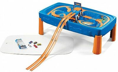 Hot Wheels Car And Track Play Table Step2 Kids Toy Race Perfect Gift New!!!
