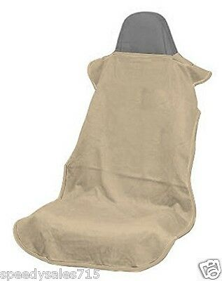 Seat Armour CST-TAN Tan Seat Protector Towel Cover Universal New Free Shipping
