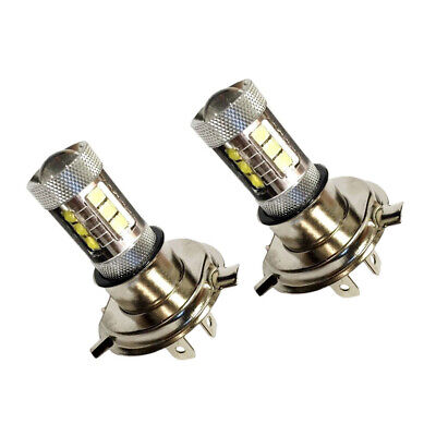 Fits 2007-2015 Yamaha Grizzly 80W LEDs Super White Headlights Bulbs Lamps 2 Pack