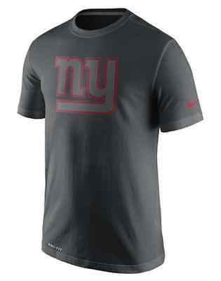 New York Giants Nike Dri-Fit Practice Travel T-Shirt