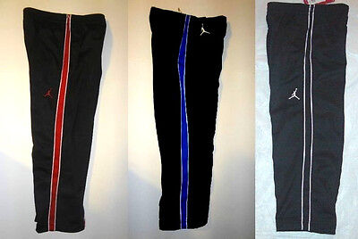 Blk//Blue or Blk//White Size 4 NWT Air Jordan Nike Boys Athletic Pants Blk//Red