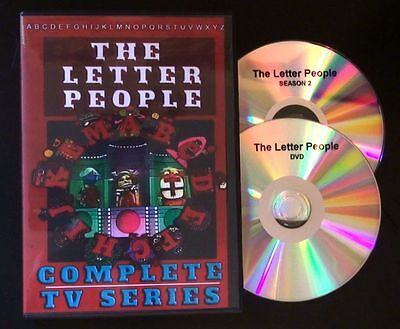 The Letter People Tv Show - Complete Series DVD set