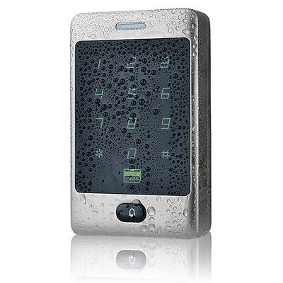 Touch Keypad 125KHZ Access Control Panel Door Entry System IP68 Waterproof
