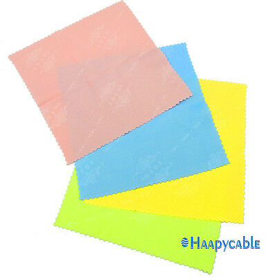 New 4 PCS Microfiber Cleaner Cleaning Cloth for Phone Screen Camera Lens Glasses