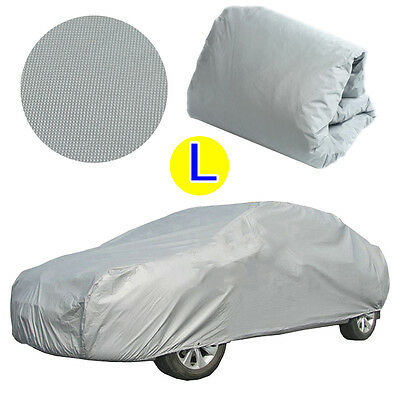 Large Size Universal Full Car Cover Anti Waterproof Dust Scratch UV Resistant  L