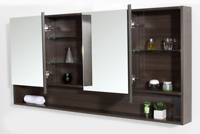 PANORAMIC MIRROR CABINET -Vivo - 1500mm - V15A