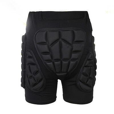 Snowboard Ski Padded Protective Shorts Protection Impact Hip Body Armor Large