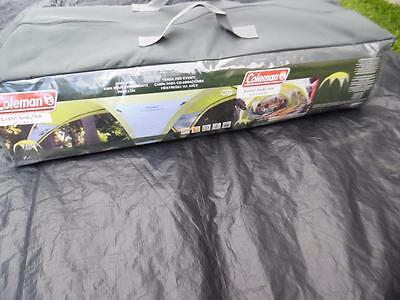 New Coleman 4.5 x 4.5m Event Shelter Yellow/Silver UV Guard fire retardant