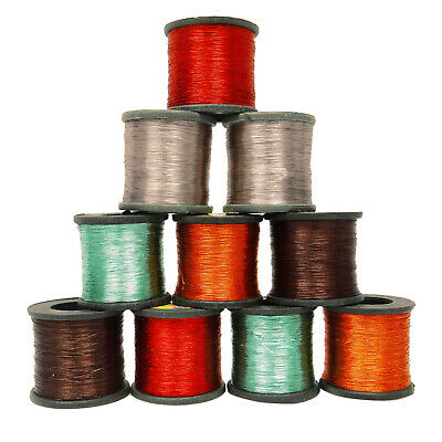 Lot of 10 Pcs Metallic Thread Hand Machine Sewing Wholesale Embroidery Spool