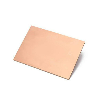 10* 70x100x1.5mm One-Side Copper Clad Single PCB Circuit Kit Board Glass Fiber