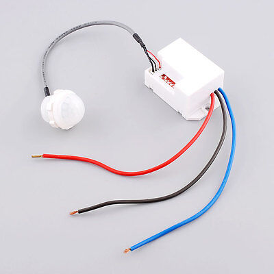 360 Recessed PIR Occupancy Infrared Proximity red Sensor Detector Switch