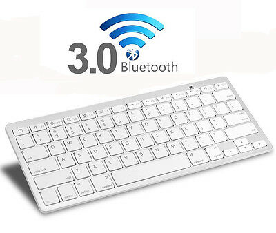 Universal Bluetooth 3.0 Wireless Keyboard for Apple iPad Android Tablet