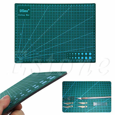 Double-Sided PVC Multipurpose Self Healing Builders A4 Cutting Mat 30x22CM