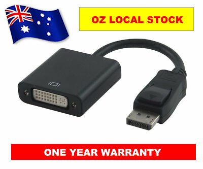 NEW DP Display Port To DVI 24+5 Pin Converter Adapter Cable - 1Year Warranty