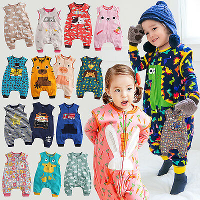 "Vaenait Baby Kids Pjs Clothes Blanket Sleepsack Set ""Cotton 34Style"" 1-7T"