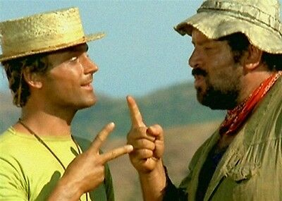 Poster Bud Spencer e Terence Hill Attori Cinema cod 4046